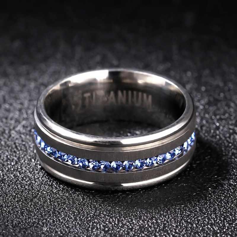 Fashion 8 Mm Klasik 100% Tungsten Carbide Cincin untuk Pria Wanita Pernikahan Band Tungsten Cincin Tidak Pernah Karat