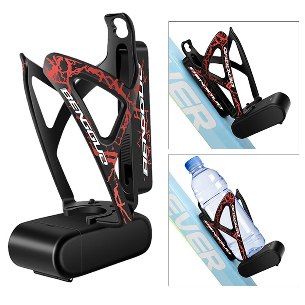 "Adjustable Plastic Bike Bicycle Cycling Water Bottle Rack Cup /""Cage Holder+Sc/_TS"