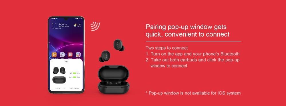QCY M10 TWS Bluetooth V5.0 Wireless Earphones 6