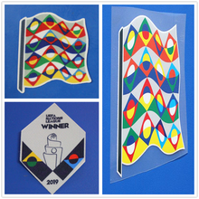 2018 Velvet Nations League Patch And Respect Heat Transfer Soccer Patch Badge