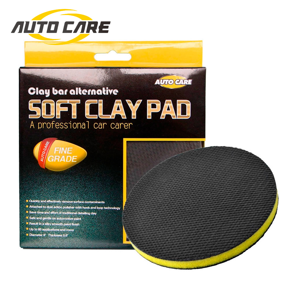 AutoCare Car Cleaning Sponges Car Polishing Clay Pad Auto Magic Clay Bar Pad Car Detailing Product Before Wax Polishing Pads image