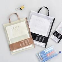 Folder Bag File-Paper Office-Stationery A4 Handbag Storage-Bag Desk Simple-Series School