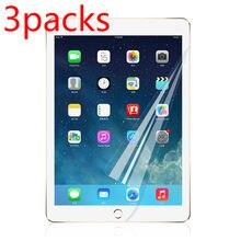 3 paket PET yumuşak Film Apple iPad için 10.2 (2020) ekran koruyucu koruyucu film için iPad (8th nesil) A2428 A2429 A2270