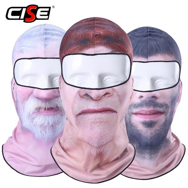 3D Clown Beard Man Motorcycle Balaclava Full Face Mask Cover Helmet Liner Ski Paintball Snowboard Biker Riding Hood Men Women