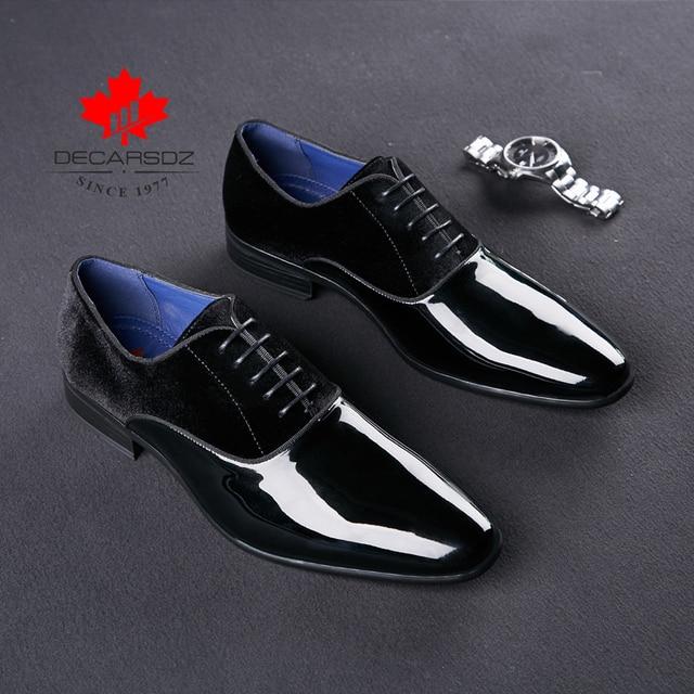 2020 Spring & Autumn Brand Wedding Dress Shoes-Men Shoes 4