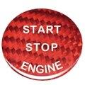 Наклейка из углеродного волокна  кнопка запуска двигателя для Bmw E90 E46 E39 E36 E60 F30 F10 E87 E53 E70 G30 X5 5 серии ST