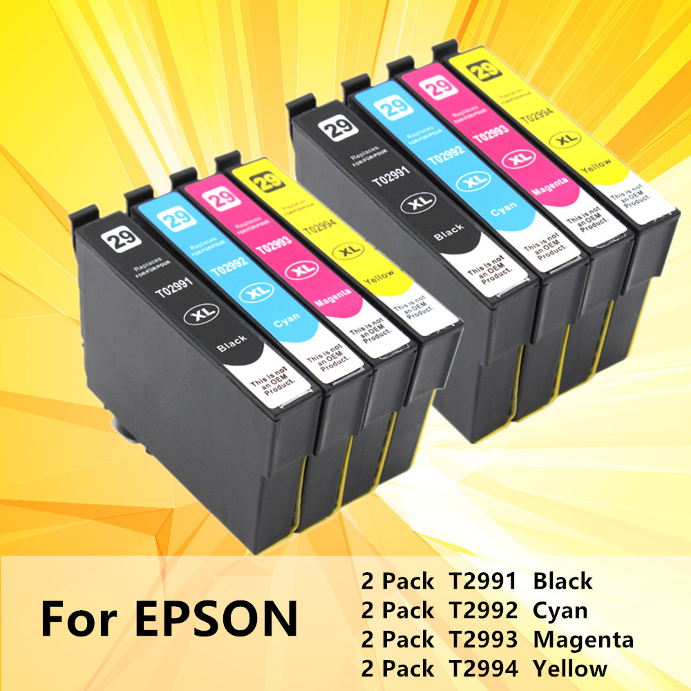 Replacement 2991 T2991XL T2991 For <font><b>Epson</b></font> ink Cartridges 29XL XP235 XP247 XP245 XP332 XP335 XP342 <font><b>XP345</b></font> XP435 XP432 XP442 printer image