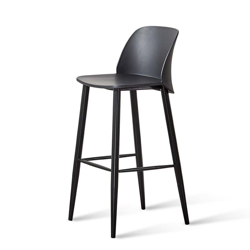 Modern Simple Bar Chair, Front Desk Chair, Bar Stool, Northern Europe Creative Bar Stool, Household Fashion Bar Chair, Loft