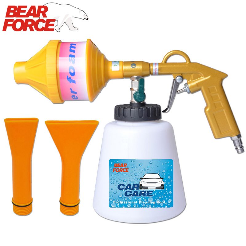 Pneumatic Air Car Wash Cleaning Foam Gun Snow Foam Lance Foam Sprayer Air Compressor Espuma Tool For Tornado Foam Generator