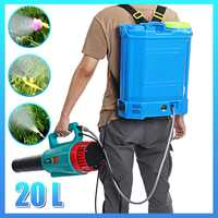 Equipo de rociado de pesticidas agrícolas mochila pulverizador inteligente de jardín mochila 20 litros 12v 220v batería eléctrica ULV Foger