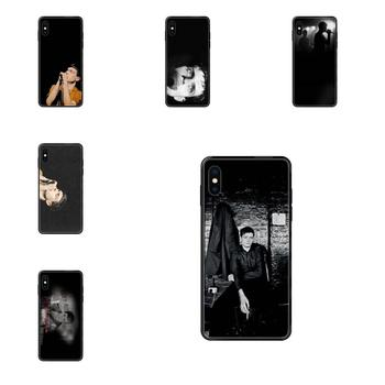 For Apple iPhone 11 12 Pro XS Max XR X 8 7 6 6S Plus 5 5S SE Pattern Hard Phone Case Starry Sky Joy Division Ian Curtis image