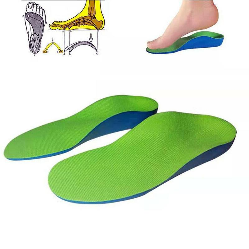 Soft Kids Orthopedic Insoles Flat Feet Orthopedic Children Arch Support Insole