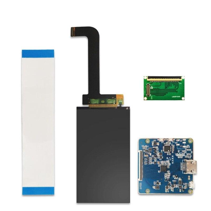 5,5 дюймовый 2K LCD LS055R1SX03 2560*1440 для дубликатора Wanhao D7, экран для 3D-принтера с HDMI на MIPI контроллер