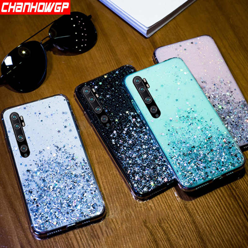 Luxury Star Glitter Soft Case For Xiaomi Redmi Note 8T 8 Note 7 6 5 K30 K20 Pro Redmi 8 8A 7 7A 6 6A 5A 4X Crystal Clear Cover