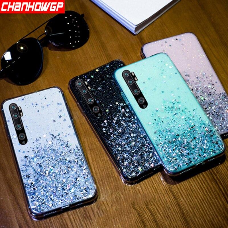 Luxury Star Glitter Soft Case For Xiaomi Redmi Note 8T 8 Note 7 6 5 K30 K20 Pro Redmi 8 8A 7 7A 6 6A 5A 4X Crystal Clear Cover(China)