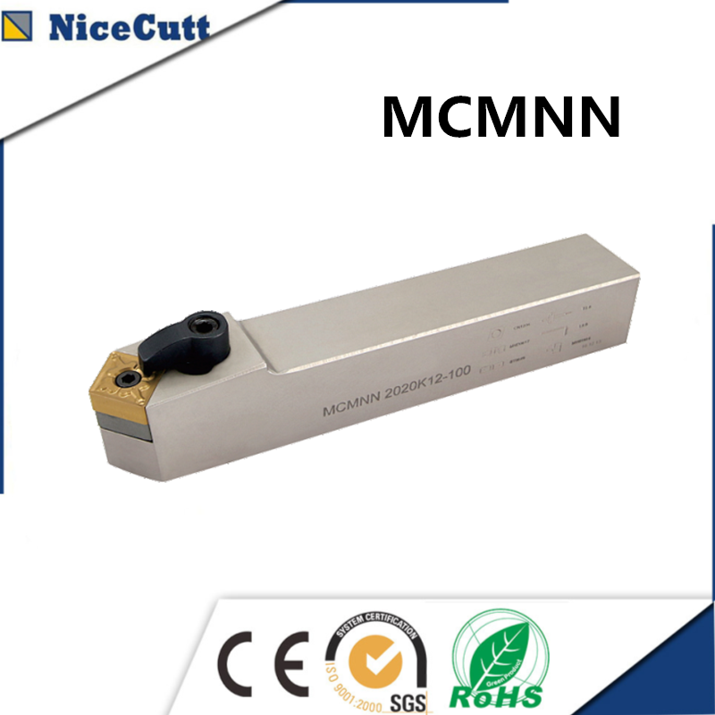 Nicecutt Lathe Tool MCMNN External Turning Tool Holder for CNMG <font><b>1204</b></font> <font><b>insert</b></font> Lathe Tool Holder Free shipping image