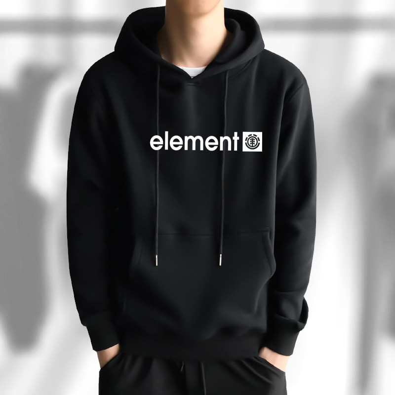 Hoodies Male Long Sleeve Men Sport Hoodies Letter Element Print Hoodie   Youth Hoodie Interesting Cotton Clothes Interesting