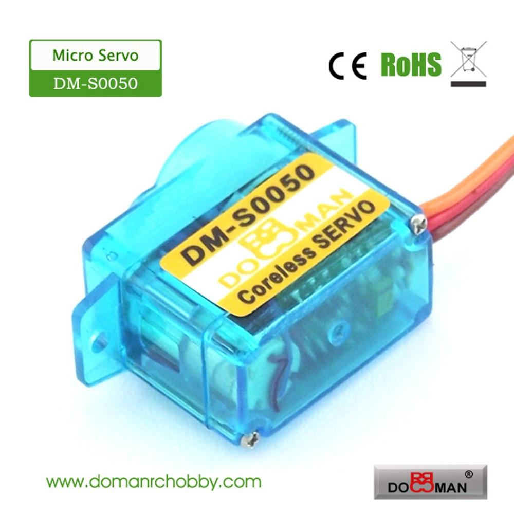20 قطعة/الوحدة DM S0050 دومان RC DM S0050 5g coreless مايكرو الرقمية rc مضاعفات-في قطع غيار وملحقات من الألعاب والهوايات على  مجموعة 1