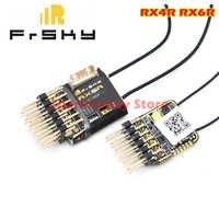 Receptor de telemetría Original FrSky RX4R RX6R 6/16 diseñado para deslizadores salida 6 pwm ultra pequeña y súper ligera