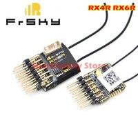 Receptor de telemetria оригинальный FrSky RX4R RX6R 6/16 disegnado para deslizadores salida 6 pwm ultra pequena y shoser ligera