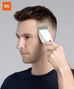 Image 2 - Youpin Enchen Boost USB électrique tondeuse à cheveux deux vitesses en céramique coupe cheveux rapide charge tondeuse à cheveux enfants adultes