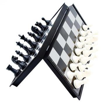 Jeu d'échecs magnétiques pliables Portable d'entraînement - ideal déplacemnts 1