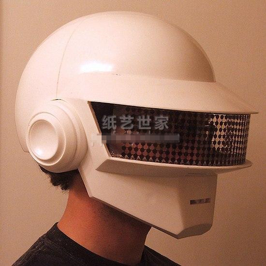 3D Paper Model Daft Punk Helmet Mask 1:1 Wearable Cosplay Model  DIY Handmade Child Toys