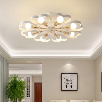 Ceiling lights LED master bedroom lamp simple modern living room lamp creative study warm dining room lamp