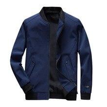 Men's Autumn Winter Casual Fashion Pure Color Jacket Zipper Outwear Coat Tops Slim Fit Pilot Coat Men Clothing US Size  8.13 цены онлайн