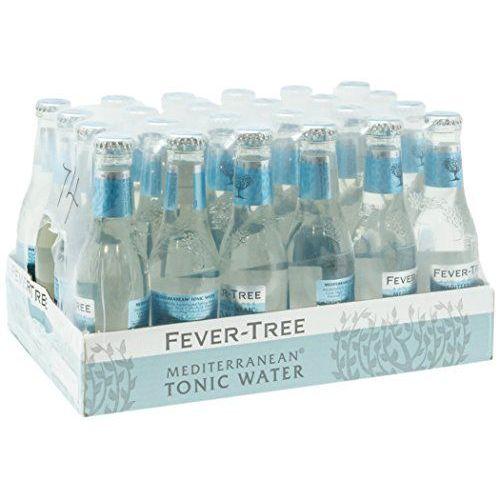 Fever Tree Mediterranean Refreshments - Confezione Da 24 X 200 Ml - Totale: 4800 Ml