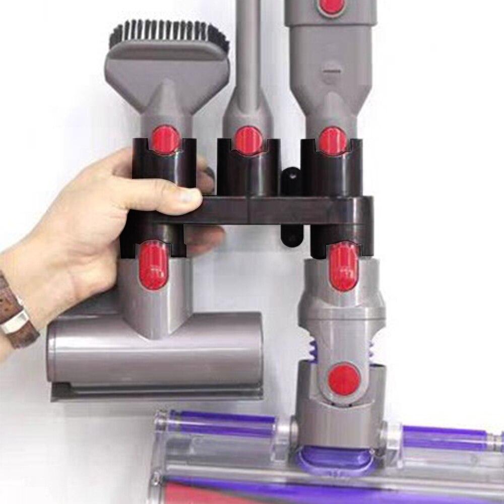 Полка для пылесоса Dyson V7 V8 V10, практичное оборудование для хранения аксессуаров|Подставки для хранения и стеллажи|   | АлиЭкспресс
