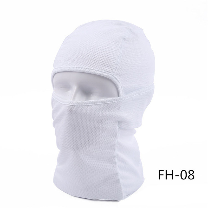 1pc Season Solid Breathable Balaclava Face Mouth Mask Man Women Unisex Outdoor Cycling Spring Mask Black Mask Mouth Head Cover