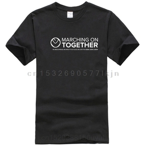 Leeds United, Marching on Together Screen Printed T-Shirt