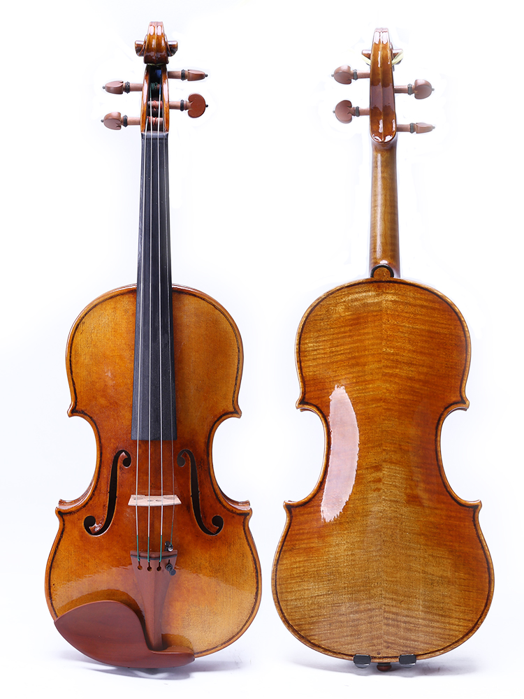 Antonistradivara floor violin 4/4 violin copy, all European wood, free shipping!60-y old fir