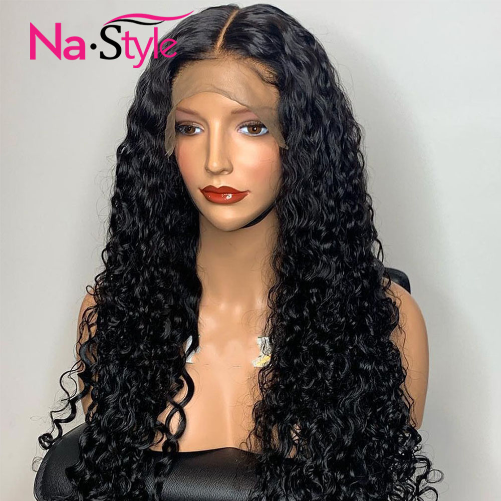 Curly Full Lace Human Hair Wigs Pre Plucked Full Lace Wig Glueless Full Lace Wigs Human Hair With Baby Hair Brazilian Wig