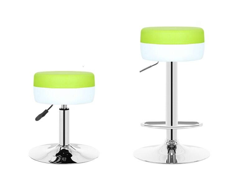 Bar Chair Lift Rotating Modern Minimalist Front Desk Chair High Stool Bar Stool Mobile Phone Shop Stool