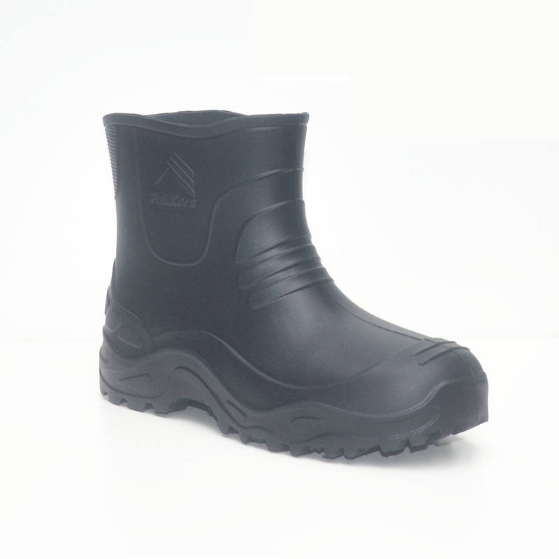 EVA  Rain Boots Men Black Light Weight Water Boots Wash Fishing Boots