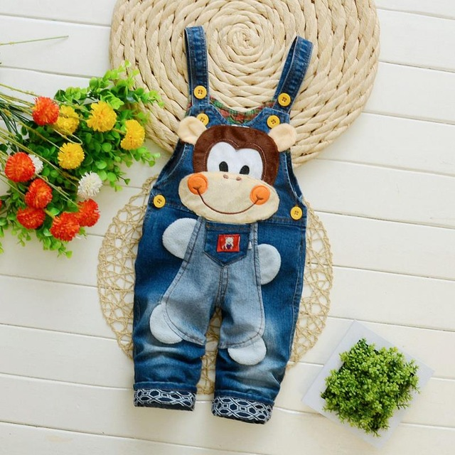 Bibicola Baby Boys Denim  Overalls  Infants  Bib Pants Jeans Clothes  Bebe Denim Jumpsuits Kids Suspenders Pants