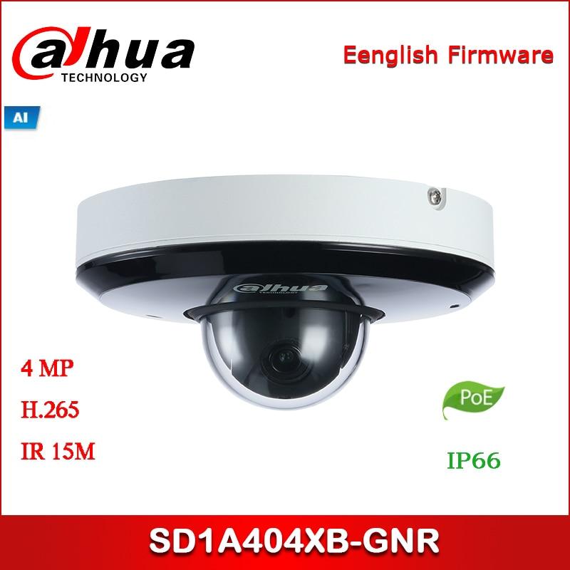 Dahua IP Camera SD1A404XB-GNR 4M 4x Starlight IR PTZ AI Network Camera Support POE IR Security Camera
