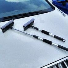 1шт стекло автомобиля, соскоб выдвижные и съемные ручки лобовое стекло скребок резиновый и инструмент для чистки губка поставки автомобиля