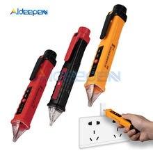 Testeur de détecteur de tension AC sans contact VD802, 12V-1000V, LED, stylo de vapotage, prise, voltmètre, stylo de Test