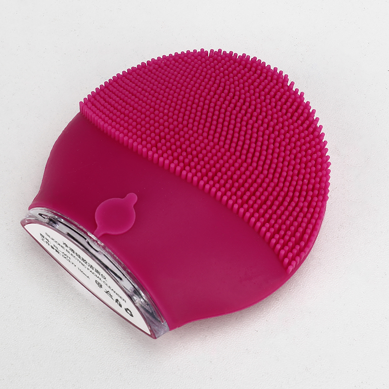 Electric Facial Cleansing Brush Ultrasonic Vibration Massage Face Washing Brush Skin Blackhead Remover Cepillo Facial