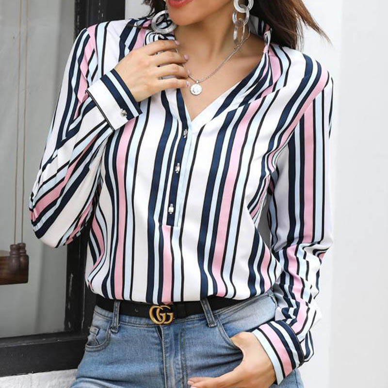 Pineapple Blouse Women's Shirt Ananas White Long Sleeve Blouses Woman 19 Womens Tops and Blouse Elegant Top Female Autumn New 19