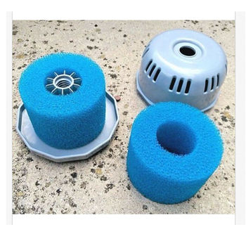 цена на Swimming Pool Filter Water Pump Filter Pump  Lay In Clean Spa Hot Tub S1 Washable Bio Foam 2 4 X UK VI LAZY 'Z Type Filter'