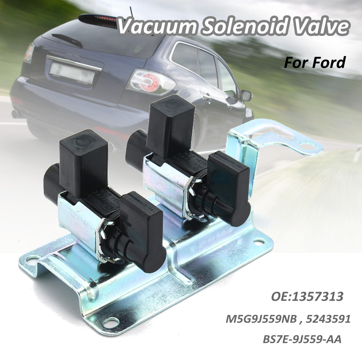 Intake Manifold Vacuum Solenoid Valve 4M5G-9J559-NB 4M5G9J559NB Runner Control For FORD For Focus Cmax For Mondeo For Mazda