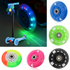 Flash Wheel Mute Wheel For Micro Scooter Flashing Light Kid Car Toy Wheel  Skateboarding  Longboarding ClothingShoes Accessories