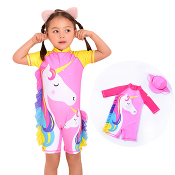 Jednoczęściowe stroje kąpielowe dziewczyny Cartoon kucyk Little Pony stroje kąpielowe stroje kąpielowe dla dzieci tanie i dobre opinie NoEnName_Null Pasuje prawda na wymiar weź swój normalny rozmiar spandex Drukuj 8933 Hand Wash Hang to dry