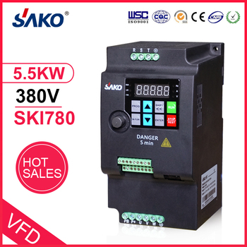 цена на SAKO SKI780 5.5KW 380V VFD Variable Frequency Drive Inverter for Motor Speed Control Converter