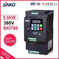 SAKO SKI780 5.5KW 380V VFD Variable Frequency Drive Inverter for Motor Speed Control Converter