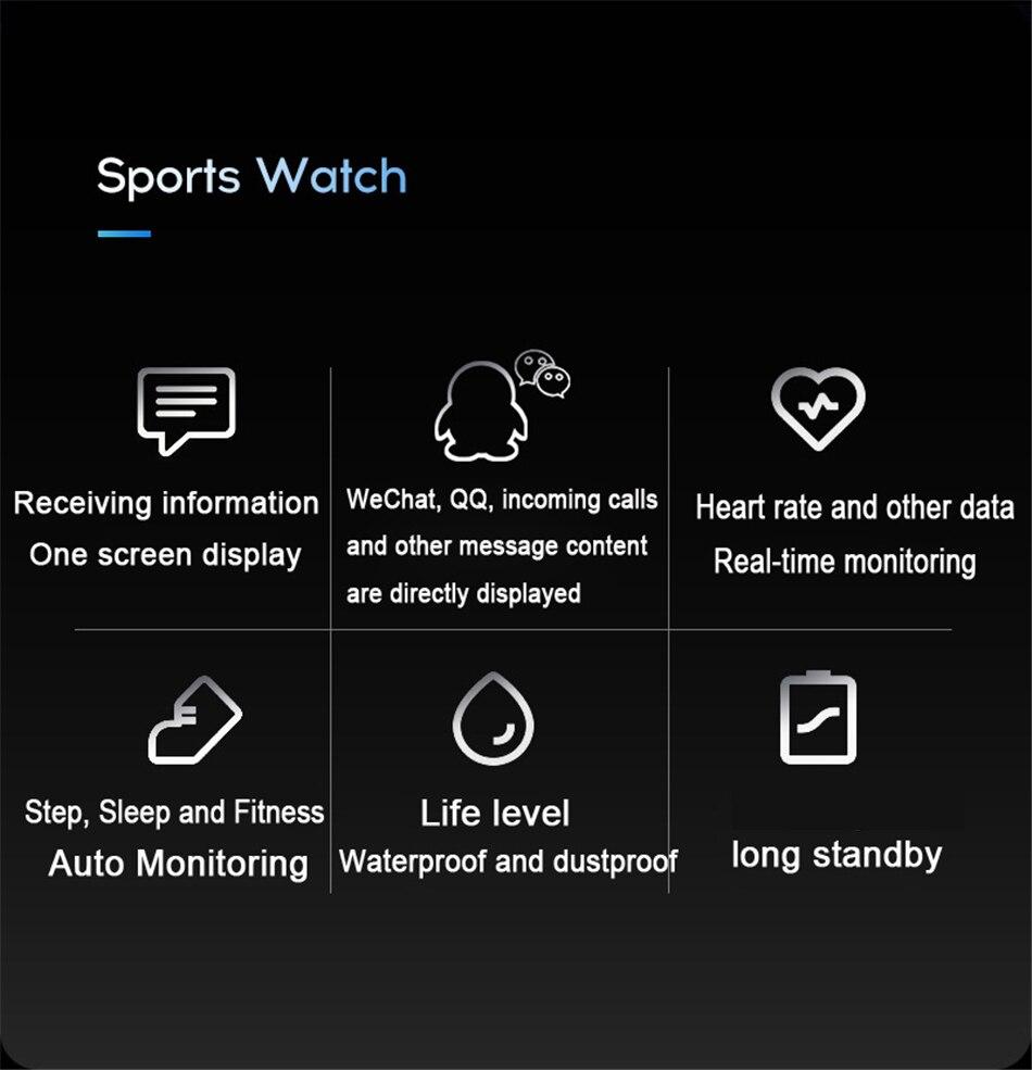 H3fc967398e1c4b0e97ea6ce911c7fb84b M3 Smart Band Fitness Tracker Smart Bracelet Heart Rate Monitor Watches Waterproof Sport Wristband For Men Women Smartband